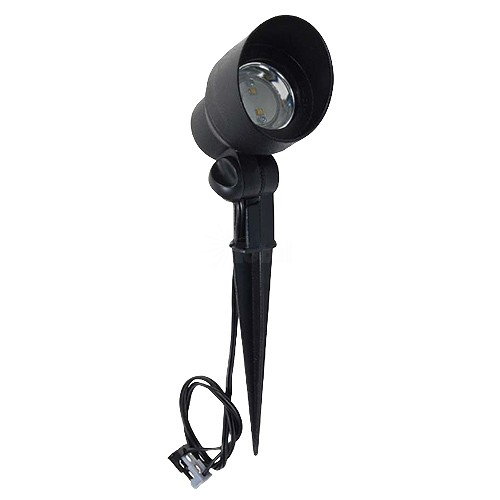 Malibu Landscape Lighting Manual: Malibu 8401-2604-01 Low Voltage LED Cast Metal Black Flood