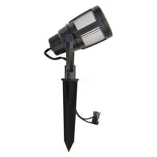 Replacement Lens For Malibu Landscape Lights: Malibu 8418-2606-01 LED Gun Metal Gray Brushed Caged Flood