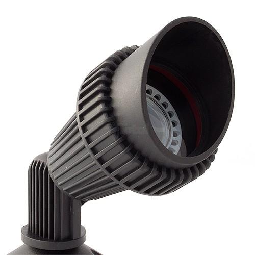LED Black Landscape Lighting Non-corrosive Composite
