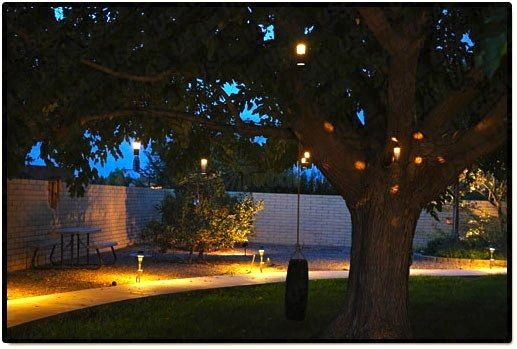 Malibu Lighting Parts >> Landscape lighting outdoor low voltage flower hanging tree light