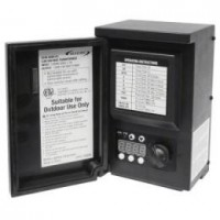 LED Malibu 8100-0200-01 200 watt Outdoor Transformer with digital timer and photo eye