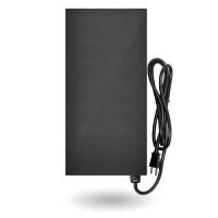 LED EMCOD EMT-60-HL multi-tap magnetic 60watt AC transformer 12V-15V black powder coat housing 120VAC