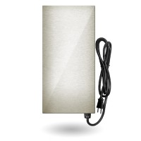 LED EMCOD EMT-150-SSHL Premium multi-tap magnetic 150watt AC transformer 12V-15V stainless steel housing 120VAC