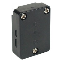 LED Quick outdoor landscape lighting CO-3T 12volt rectangular snap connector