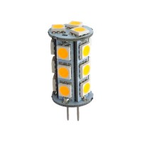 Green Watt G-G4-18P-5050-WW LED 1.8watt JC Style 2700K light bulb