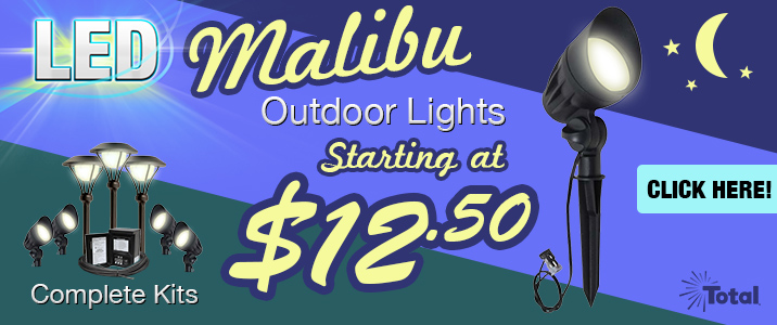 Malibu LED-8301-9601-01 Flood Lights