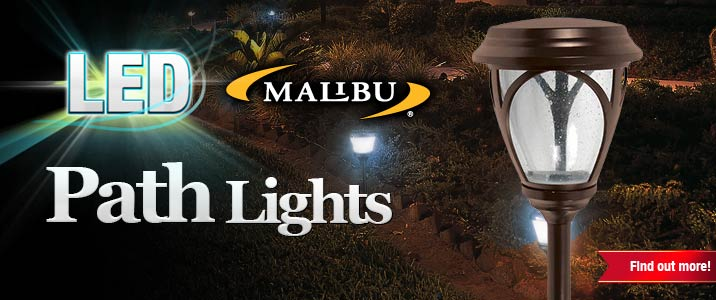 LED Malibu Path Lights
