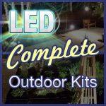 Enjoy a Garden of Light - LED Outdoor Garden Lighting